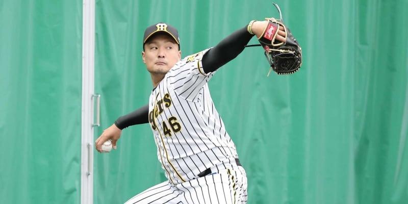 """阪神キャンプ投げ込み王 秋山1153球!""""新カット""""最終仕上げへ"""