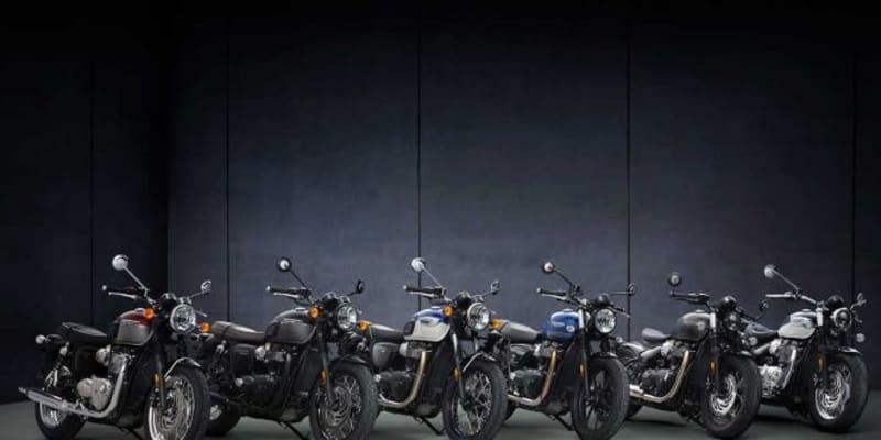 トライアンフ、新型ボンネビルシリーズを発表。伝統を受け継ぐモダンクラシックバイクが大幅進化