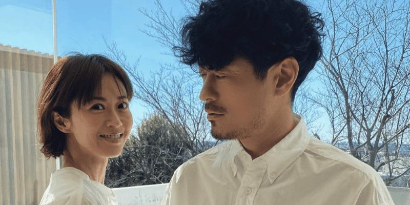 「夫婦で撮影でした」鈴木啓太の妻・畑野ひろ子が白シャツ披露