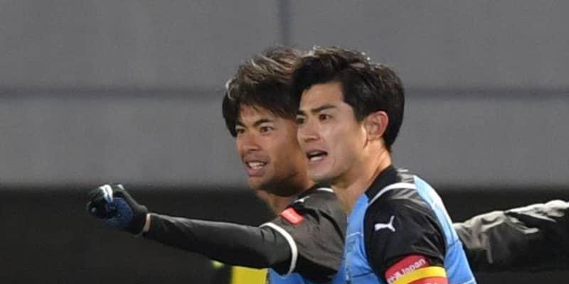 C大阪・大久保2発も…川崎に逆転負け レアンドロダミアン2得点、三笘が決勝弾