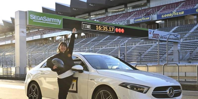 新米女子編集部員、初のAMGで初のサーキット走行に挑戦!富士SWで「2分12秒」爪痕を残す