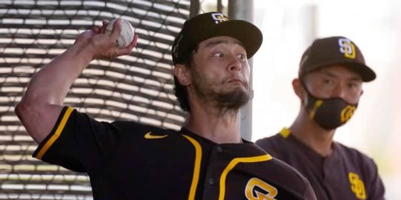 "【MLB】ダルビッシュの向上心は「素晴らしい」 勝負球を研究されたCY勝右腕が""脱帽"""