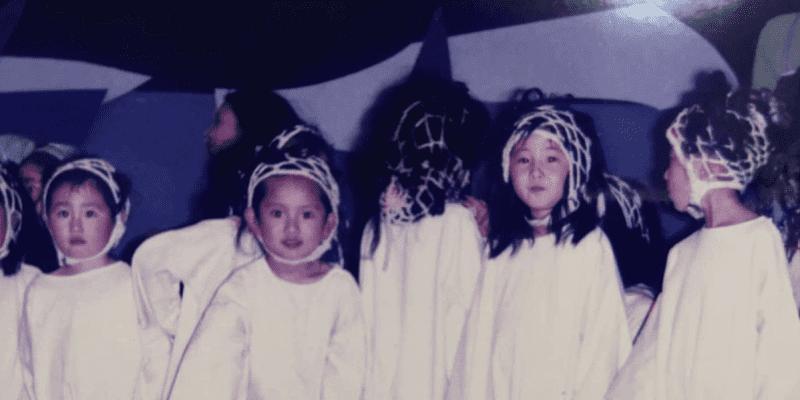 """「左から2番目のカメラ目線の女の子かな⁉️」夏菜 """"モダンバレエしてた"""" 幼少時代"""