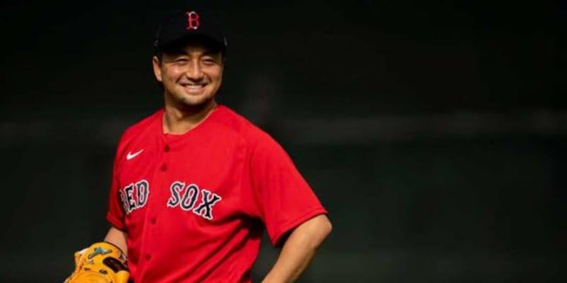 【MLB】松坂そっくり? Rソックスユニ姿の澤村拓一が「いい表情してる」「赤が似合う」