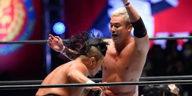 オカダ、2冠統一に物申す!飯伏は「邪神」世界ヘビー級王座は「クソダセえ」