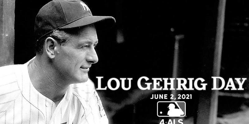 毎年6月2日が「ルー・ゲーリッグ・デー」に MLB機構が発表