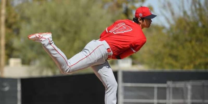 【MLB】大谷翔平、今季初の実戦登板で最速161キロ 2回途中5奪三振3安打1失点