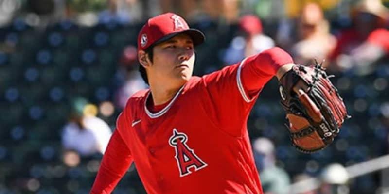【MLB】大谷翔平、最速161キロで全5アウトを三振で記録 指揮官称賛「フォーム安定していた」