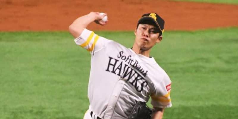 鷹・岩嵜翔が右肘検査へ 5日の阪神戦に登板も球速低下、工藤監督「見てもらった方がいい」