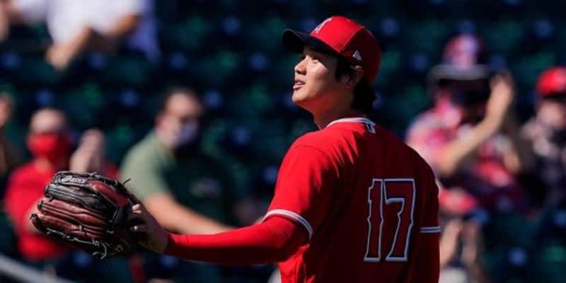大谷翔平、OP戦初登板で魔球スプリット MLB公式称賛「エリート級の動きだ」