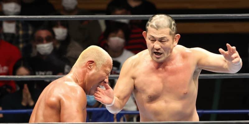新日本NJC・鈴木 初対決で本間を粉砕 IWGP世界ヘビー級「そろそろ獲りにいくぞ」