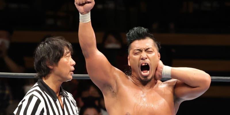 新日本NJCで鷹木が激勝「スッキリしたぜ。オカダが勝ってもつまんねえ」