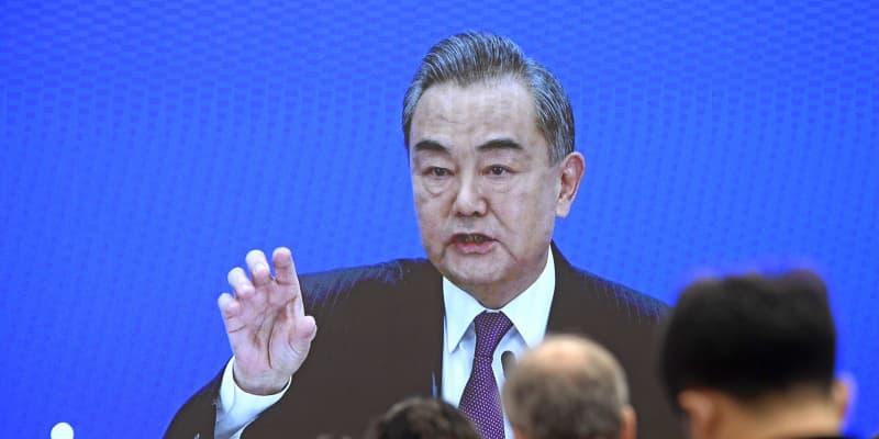 中国、米が「内政干渉」と非難 王毅外相、香港や新疆巡り対立