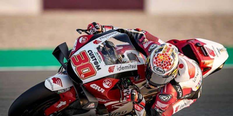 中上貴晶「新しいマシンを理解するため、引き続き一生懸命がんばります」/MotoGPカタール公式テスト1日目
