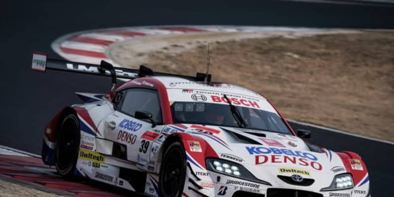 【SUPER GT】岡山公式テスト、2日目はDENSO KOBELCO スープラがトップタイムをマーク