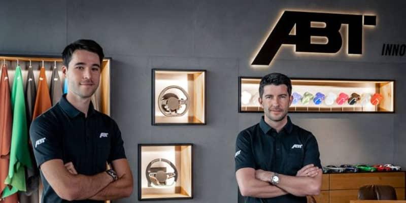 新生DTM参戦のアプト、王者ロッケンフェラーと新人ファン・デル・リンデの起用を発表