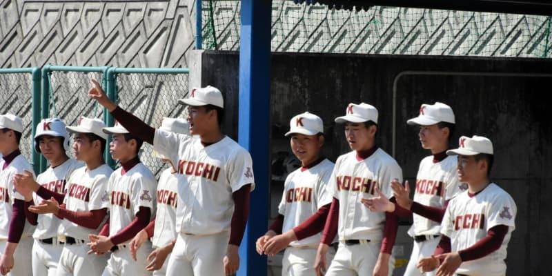 高知の剛腕・森木は今春の実戦登板を回避 仙台育英との練習試合で三塁コーチャー