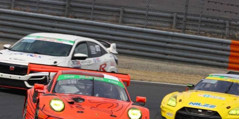 S耐開幕戦でPPを獲得した上村「ハンコックタイヤは、より丁寧なドライビングが求められる」