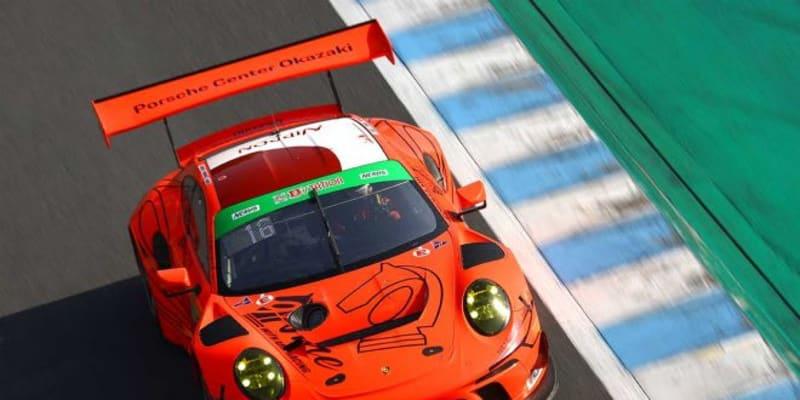PC Okazaki 911 GT3Rが僅差の予選を制してPP獲得【S耐第1戦もてぎ/公式予選結果】