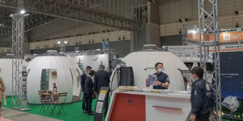 医療関連施設で活躍するドームハウス…ジャパンキャンピングカーショー2021