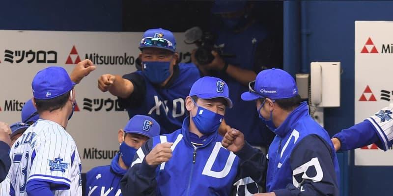 DeNA開幕から9戦目にして今季初勝利 三浦監督は勝利の瞬間満面の笑み