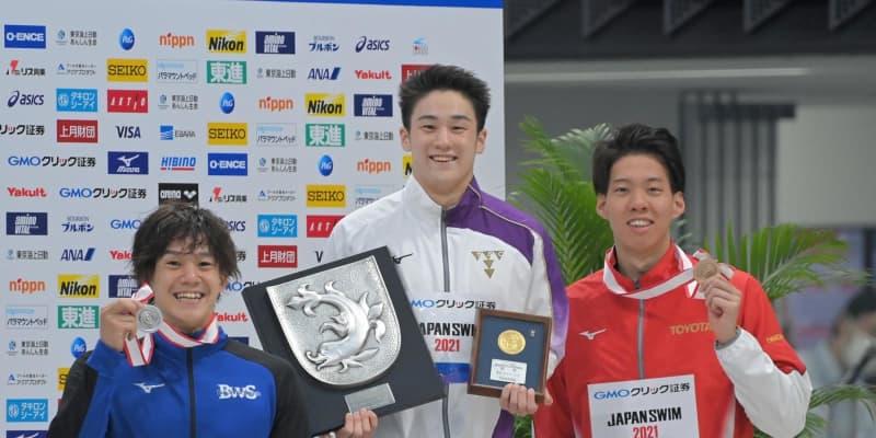 100M平泳ぎ20歳佐藤翔馬がVも派遣標準切れず「残念」メドレーリレーは代表確実