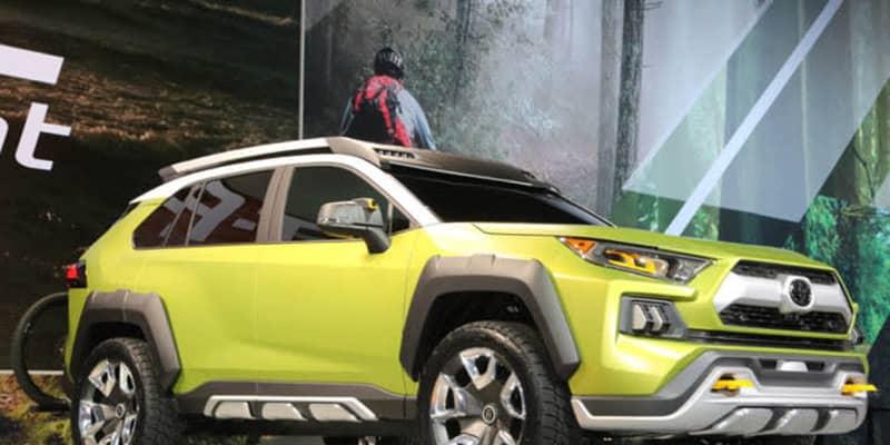 現行型RAV4が売れることはこの時わかっていた!? 2017年発表のコンセプトカー「トヨタ FT-AC」
