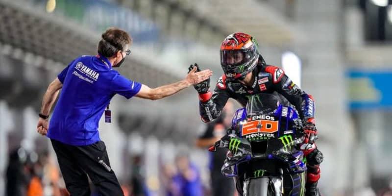 MotoGP第2戦:ドーハGPウイナーはクアルタラロ。終盤まで続いた接戦の優勝争い制す