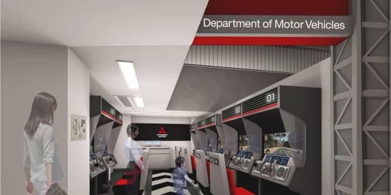 キッザニア甲子園、ドライビングシミュレータ導入…三菱自動車が出展パビリオンをリニューアル