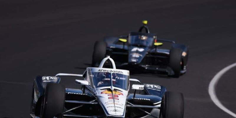 開幕直前のインディカー・テストは、ニューガーデンがトップ。琢磨は2番手もトラブルに苦しむ