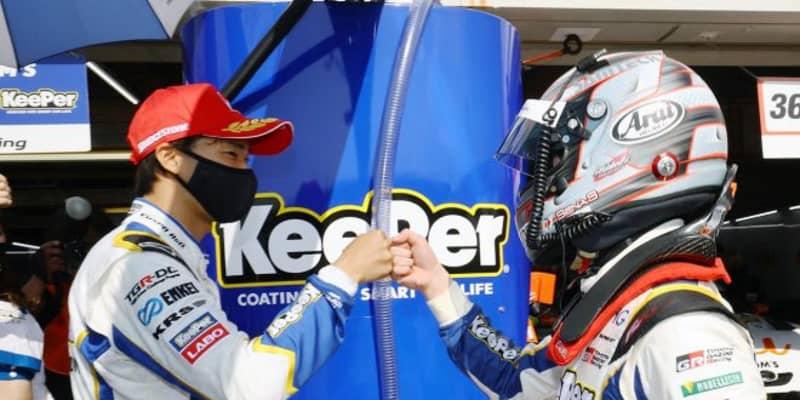 阪口晴南が代役ながら初ポール獲得。速すぎトヨタGRスープラがトップ5占拠【第1戦岡山GT500予選】