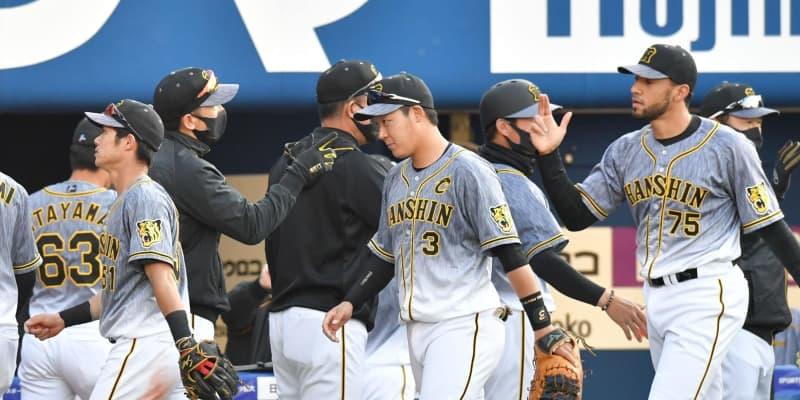 阪神・矢野監督 リーグ10勝一番乗りに「何でも一番乗りはうれしいことなんで」