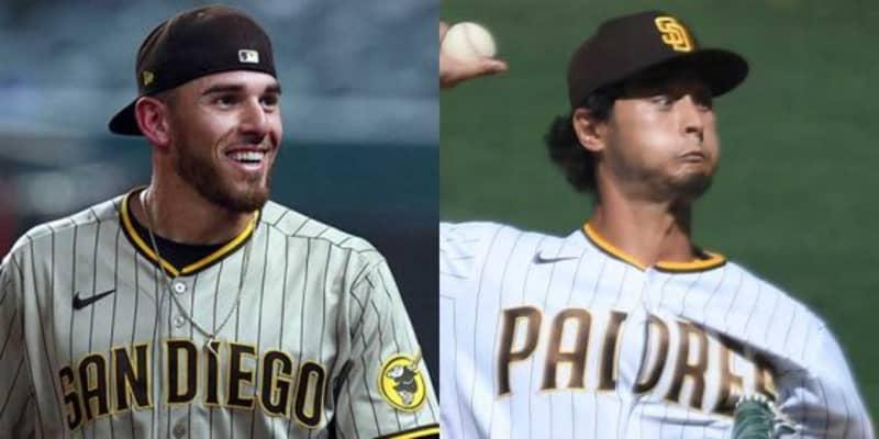 【MLB】パドレス右腕、ノーノー達成の裏には5本指ソックス? ダルビッシュが秘話明かす