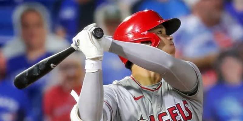 【MLB】大谷翔平は「ボールを粉砕している」 飛距離129M&速度174キロ弾にファン驚愕
