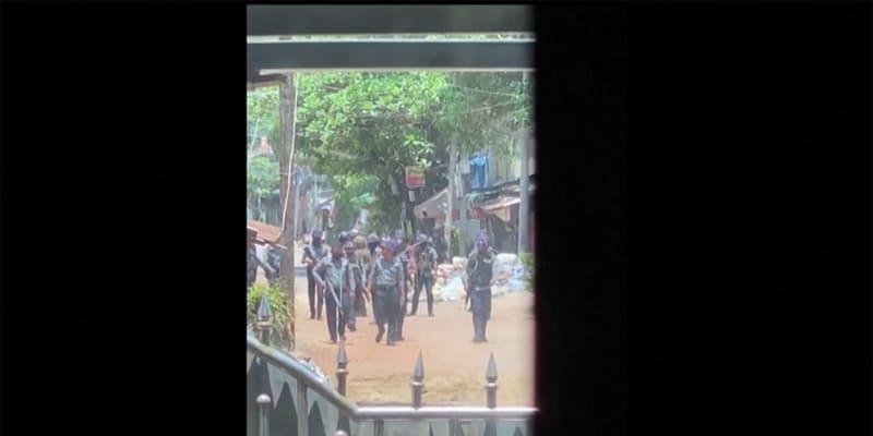ミャンマー デモ隊80人以上死亡 治安部隊が機関銃等で攻撃