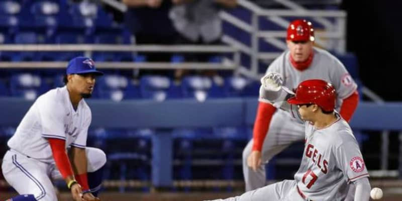 "【MLB】大谷翔平の""快足三塁打""にエ軍OB絶賛 通算668盗塁野手と比較「走り回る姿が大好き」"