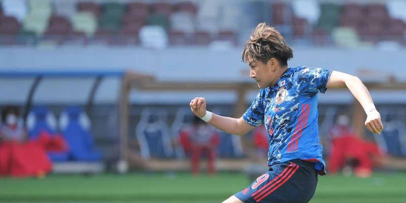 なでしこ菅沢2得点、長谷川は技ありゴール 前半終えて5-0 国際親善試合