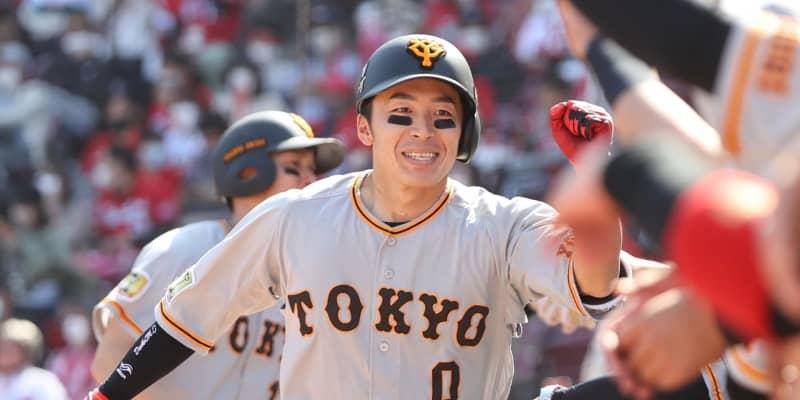 """巨人""""職人""""増田大が嬉しいプロ初本塁打!スタメン抜てきに奮起"""