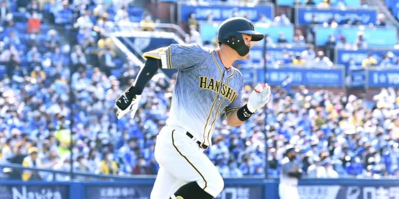 阪神・佐藤輝 強烈二塁打「最後に甘いところを」プロ初3試合連続H