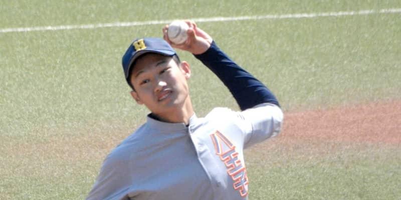 和製ランディに11球団 八王子学園八王子・羽田 自己最速更新149キロ