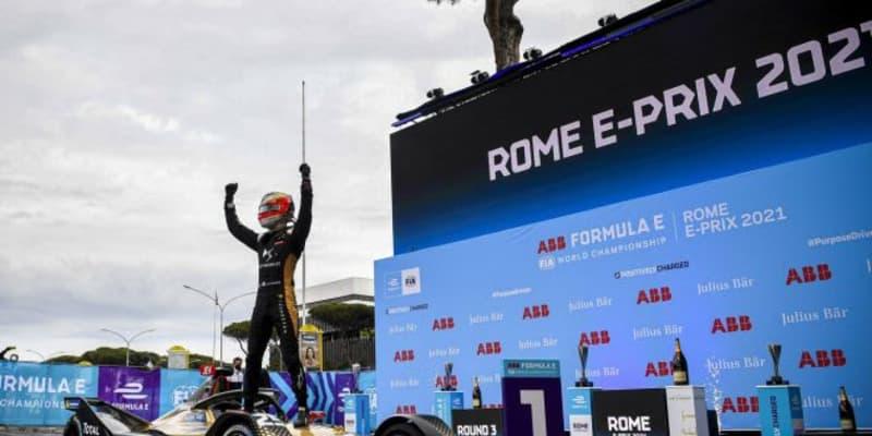 波乱のローマ連戦、バンドーンが今季初優勝。元トムスの2人は好位置を活かせず/フォーミュラE第3-4戦