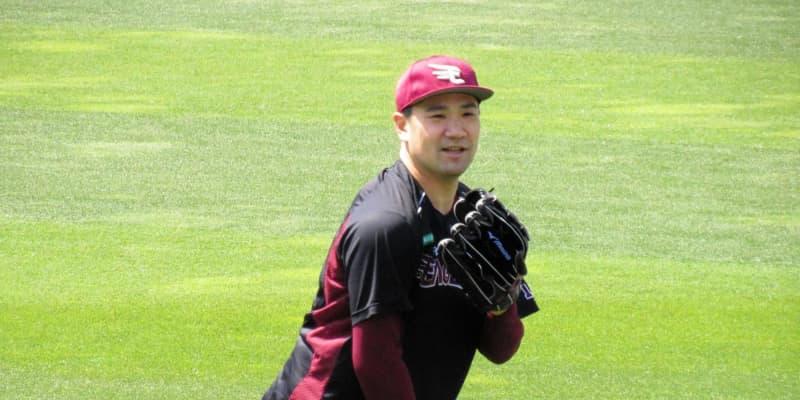 楽天・田中将大、松山のマスターズVを祝福 自身は復帰登板に向け順調調整