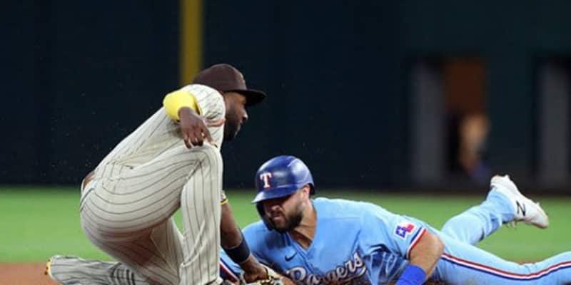 【MLB】二塁手前でスイミング? 超絶技巧のスライディングが「クレイジー」「魔法使い」