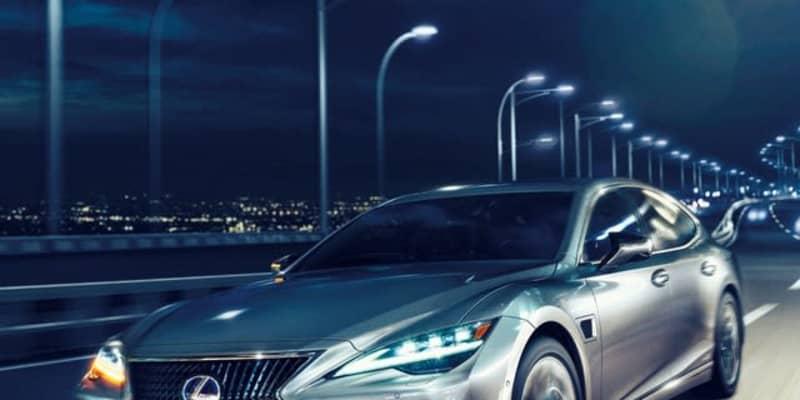 レクサス LS に2022年型、レベル2の先進運転支援が可能に…今秋米国発売