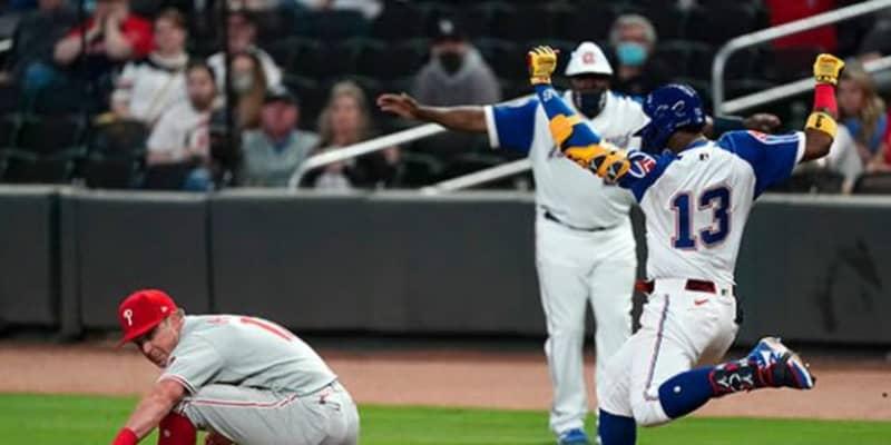 【MLB】「イチローの領域」1秒で9.45メートル進む快足内野安打が「常軌を逸している」