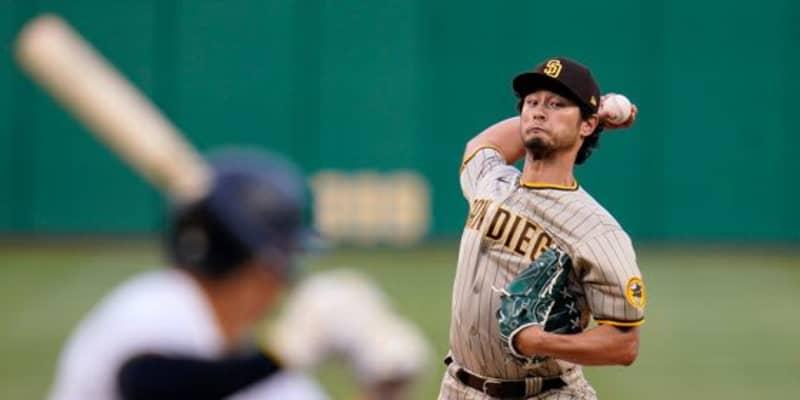 【MLB】ダルビッシュ、移籍後初勝利の権利を持って降板 今季最長7回1失点で2戦連続QS達成