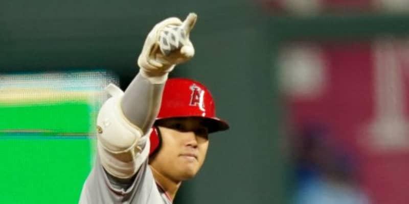 【MLB】大谷翔平、弾丸192キロ2点二塁打で初の猛打賞&3打点 打率.333、エ軍は地区単独首位