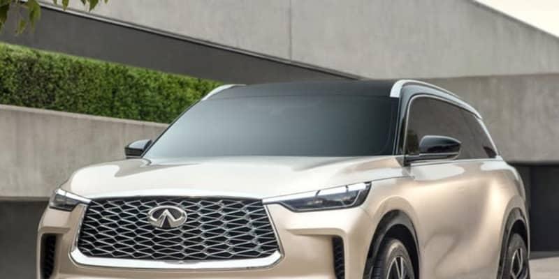 インフィニティ QX60 新型、3列シートSUV…2021年末までに北米発売