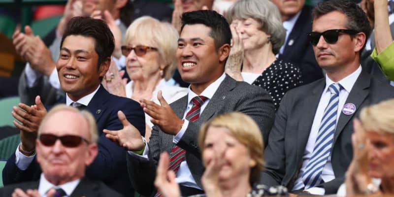 「ウィンブルドン」を訪れたこともある松山英樹のマスターズ優勝を錦織圭らが賞賛、ATPが報じる