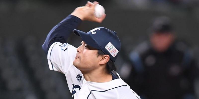西武・松本が五回までノーヒットピッチング継続中 5奪三振4与四球